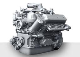 Двигатель ЯМЗ-236HE-25