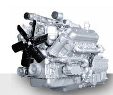 Двигатель ЯМЗ-236HE-9