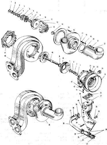 ЯМЗ 240 НМ2 Турбокомпресср