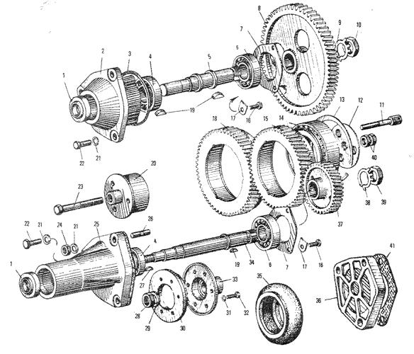 ЯМЗ 240 ПМ2 Приводагрегатов