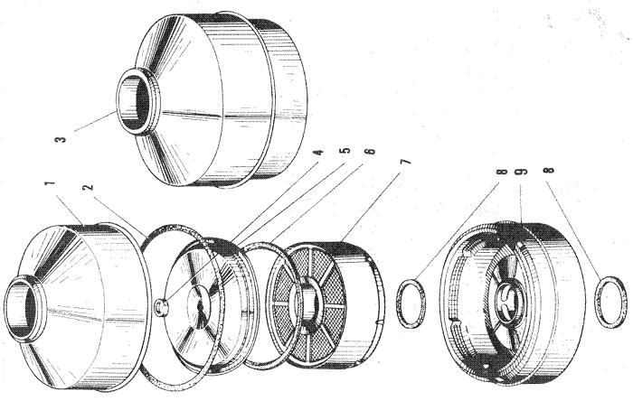 ЯМЗ 240 ПМ2 Воздушный фильтр