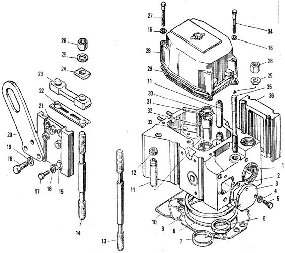 ЯМЗ 240 ПМ2 Головка цилиндров