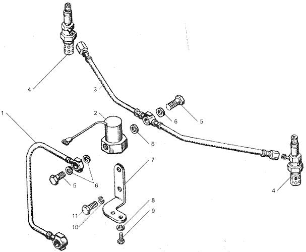 ЯМЗ 7511.10 Электрофакельное устройство
