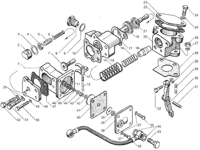 ЯМЗ 7511.10 Корректор подачи топлива по наддуву