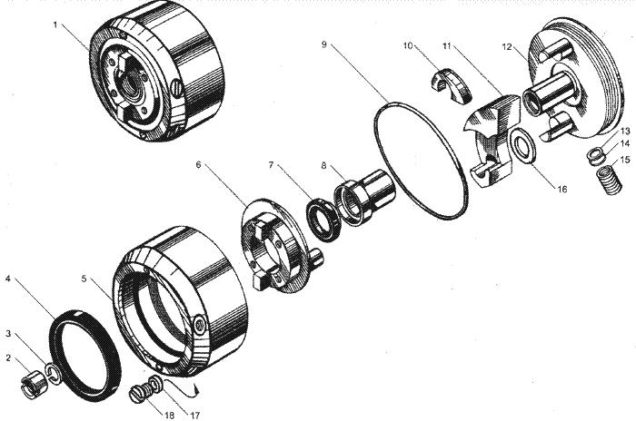 ЯМЗ 7511.10-06 Турбокомпрессор