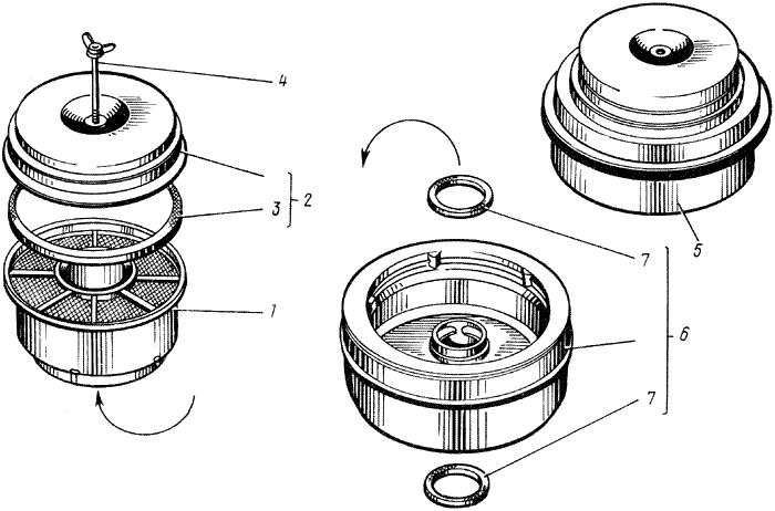 ЯМЗ 238 М Воздушный фильтр