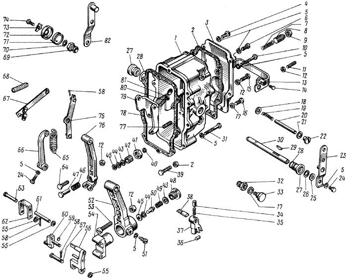 ЯМЗ 238 М Регулятор частоты вращения