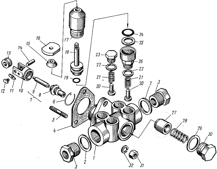 ЯМЗ 8421.10 Топливоподкачивающий насос
