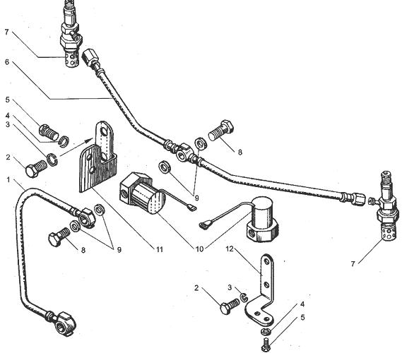 ЯМЗ 238БЕ Электрофакельное устройство
