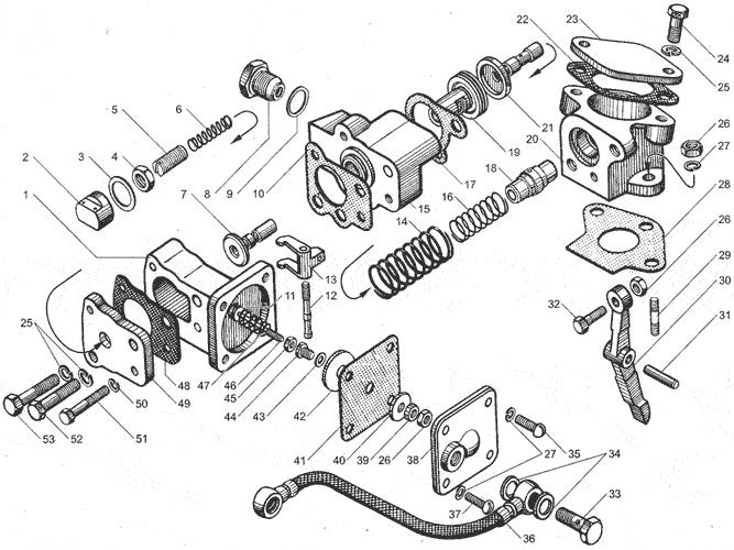 ЯМЗ 238ДЕ Корректор подачи топлива по наддуву