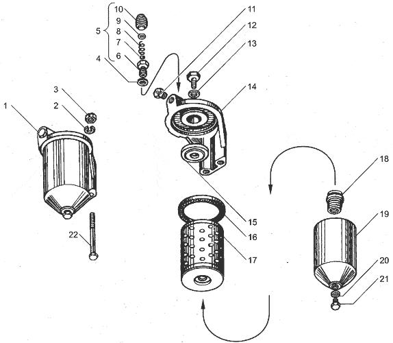 ЯМЗ 238ДЕ-11 Турбокомпрессор