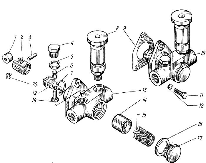 ЯМЗ 238 НД Топливный насос