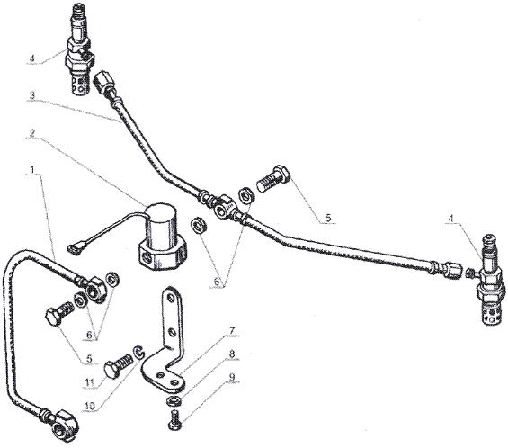 ЯМЗ 238 Б Электрофакельное устройство