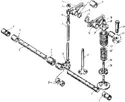 Клапаны и толкатели ЯМЗ 236 М