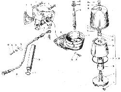 Фильтр центробежной очистки масла ЯМЗ 240 НМ2