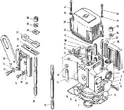 Головка цилиндров ЯМЗ 240 НМ2