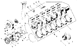 Коленчатый вал ЯМЗ 240 НМ2