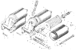 ЯМЗ 240 ПМ2 Маслянный фильтр