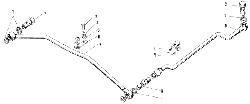 ЯМЗ 240 ПМ2 Масляные трубки турбокомпрессора ТКР-11