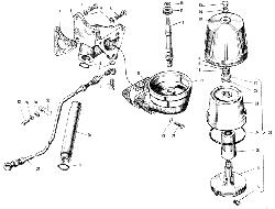 Фильтр центробежной очистки масла ЯМЗ 240 ПМ2