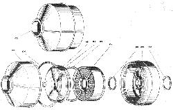 Воздушный фильтр ЯМЗ 240 ПМ2