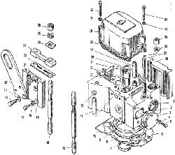 Головка цилиндров ЯМЗ 240 ПМ2