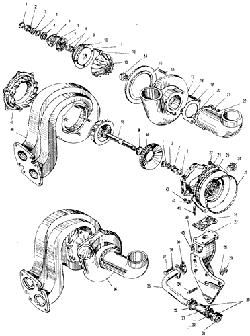 ЯМЗ 240 ПМ2 Турбокомпресср ТКР-11