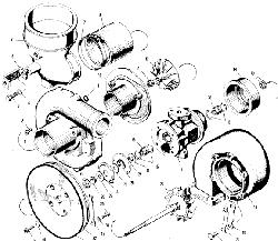 ЯМЗ 240 ПМ2 Турбокомпресср К-36
