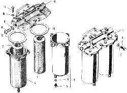 ЯМЗ 240 БМ2 Фильтр грубой очистки топлива