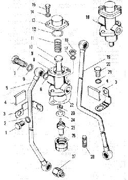 ЯМЗ 240 БМ2 Включатель гидромуфты