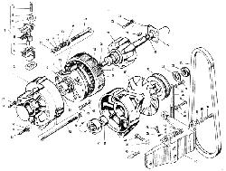 ЯМЗ 240 БМ2 Генератор Г-287 Д