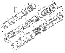 ЯМЗ 8401.10 Коллекторы впускные