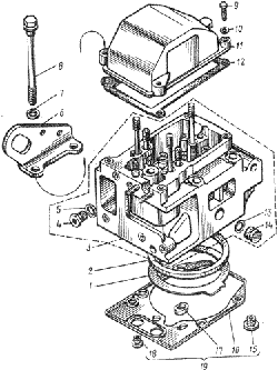 Головка цилиндров ЯМЗ 8401.10