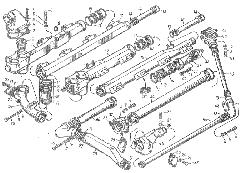 ЯМЗ 8401.10 Трубы и термостаты системы охлаждения