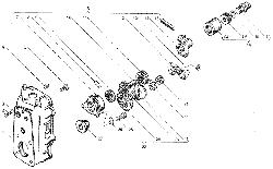 ЯМЗ 7511.10 Корпус регулятора частоты вращения