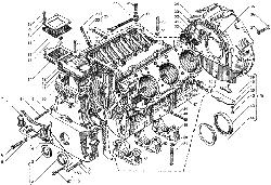 Блок цилиндров ЯМЗ 7511.10-06