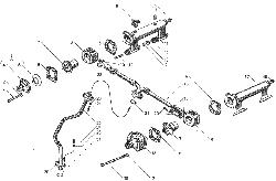 ЯМЗ 7511.10-06 Трубки подвода и слива масла турбокомпрессора