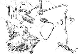 ЯМЗ 7511.10-06 Привод вентилятора
