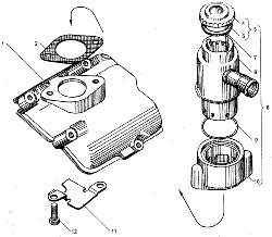 ЯМЗ 236 НЕ Электрофакельное устройство