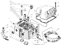 Головка цилиндров ЯМЗ 236 НЕ