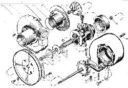 ЯМЗ 236 НЕ Трубки подвода и слива масла турбокомпрессора