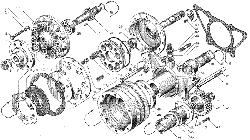 ЯМЗ 236 НЕ2 Привод вентилятора