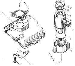 ЯМЗ 236 БЕ Электрофакельное устройство