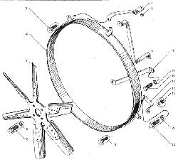 Сцепление ЯМЗ-183 ЯМЗ 236 БЕ