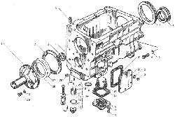 ЯМЗ 236 БЕ Валы и шестерни коробки передач