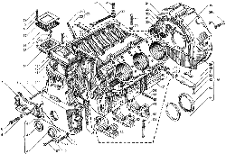 ЯМЗ 236 БЕ2 Блок цилиндров