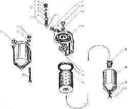 ЯМЗ 236 БЕ2 Трубки подвода и слива масла турбокомпрессора