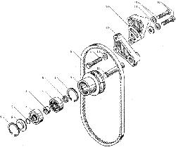 ЯМЗ 236 БЕ2 Включатель муфты привода вентлятора