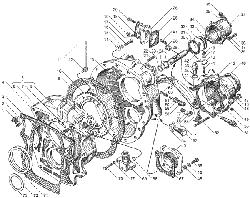 ЯМЗ 236 БЕ2 Управление механизмом переключения демультипликатора