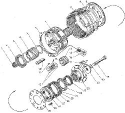 ЯМЗ 236 БЕ2 Масляный насос коробки передач